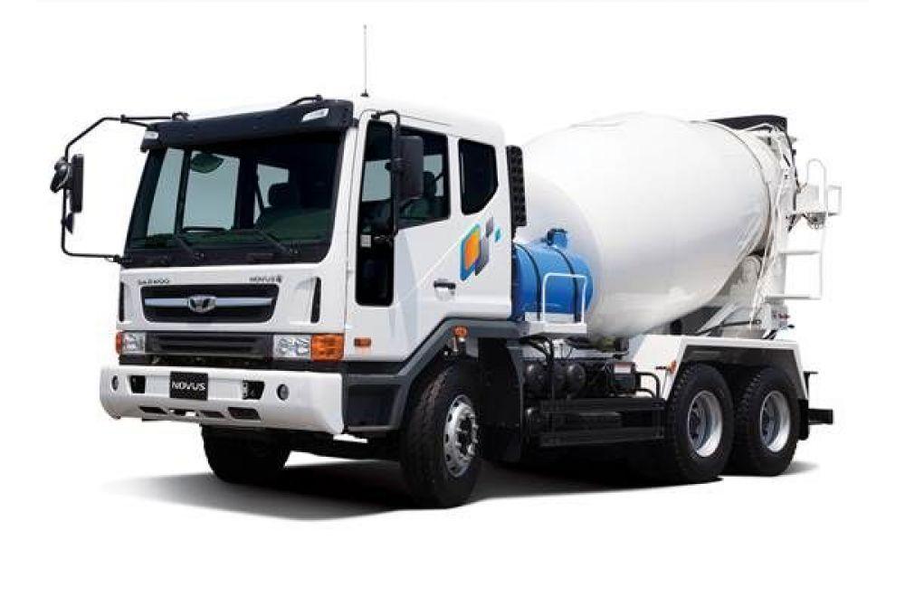 Daewoo Novus 6x4 Mixer Truck