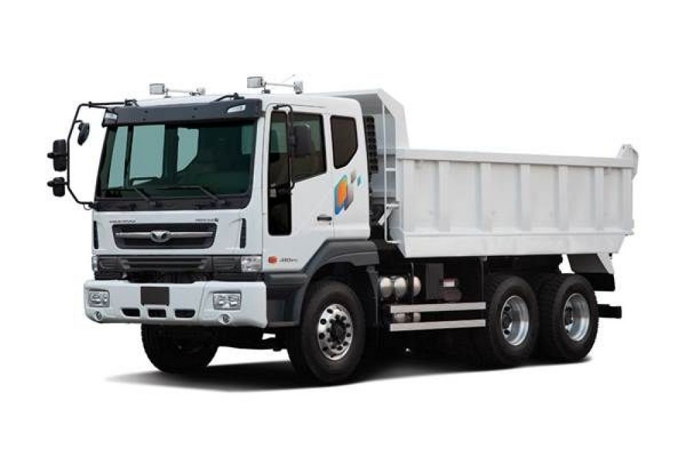 Daewoo Novus 6x4 Tipper Truck (K5DEF)