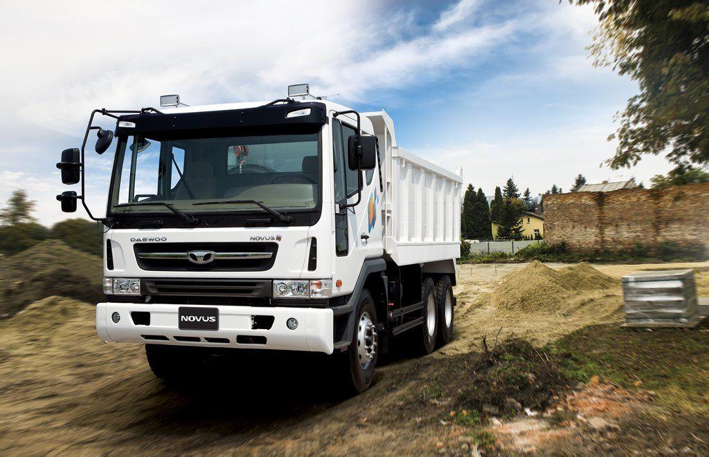 Daewoo Novus 6x4 Tipper Truck